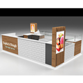 Mobile indoor or outdoor food kiosk design roller cake kiosk stand for sale