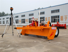 High efficiency laser land leveling mahine for sale