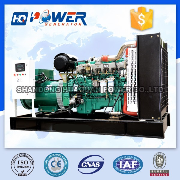 self exciting 250kw electric power generator supply
