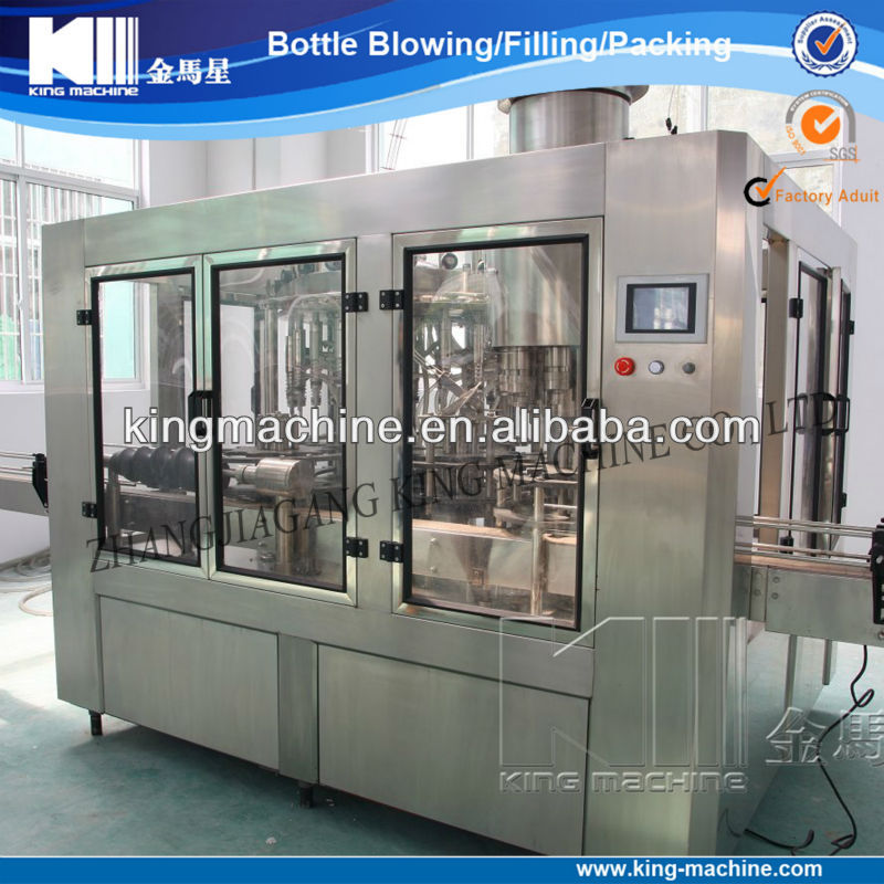 bottled vinegar filling machine / plant