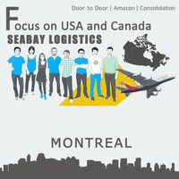 Brilliant air freight from shanghai shenzhen guangzhou to montreal