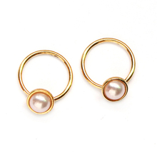 Fashionable Design Pretty Engagement long belly button cute rings nose piercing hoop jewelry
