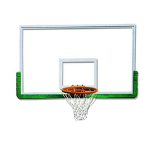 Top selling quality tempered backboard for basketball games