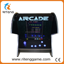 Classic Coin Operated Mini Top Arcade Cocktail Table Game Machine With Joystick