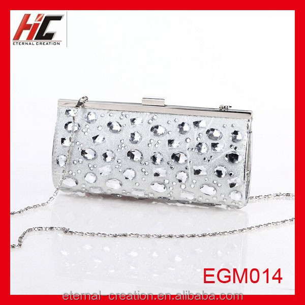 new definition dazzling particular crystal clutch evening bag lady bag for girls