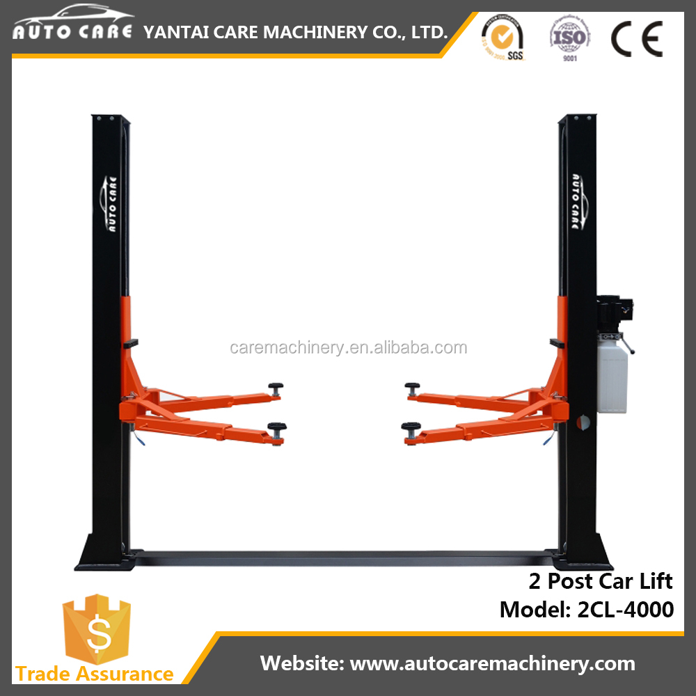 Auto garage used 2 post car lift for sale CE
