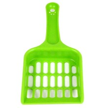 Free shipping! PP Plastic Pet Food Scoop Shovel Multi Plaid Cat Dog Food Quality Plastic Spoon