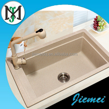 Royal style single bowl kitchen granite sink with cheap price