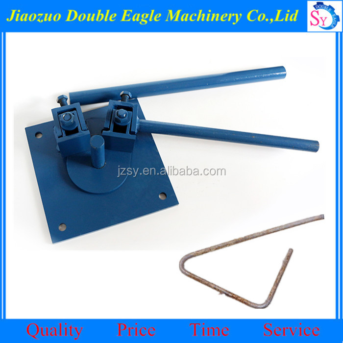 Construction tools manual metal bending machine/hand Steel Bar angle bender small equipments