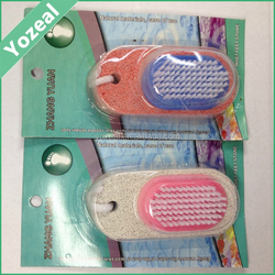 Hot sale artificial white bath pumice stone brush and foot scrubber