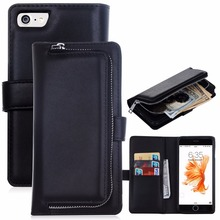 hot selling leather case for iphone 5 6 7 se wallet case high quality case for iphone