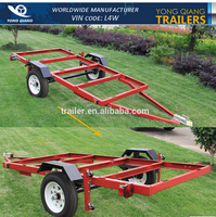 4' x 8 folding trailer