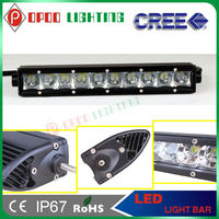 Super Bright CE RoHS 10-30V 4500lm 6000K 10 Inch 50W 5W CREE LED Light Bars for Off-road