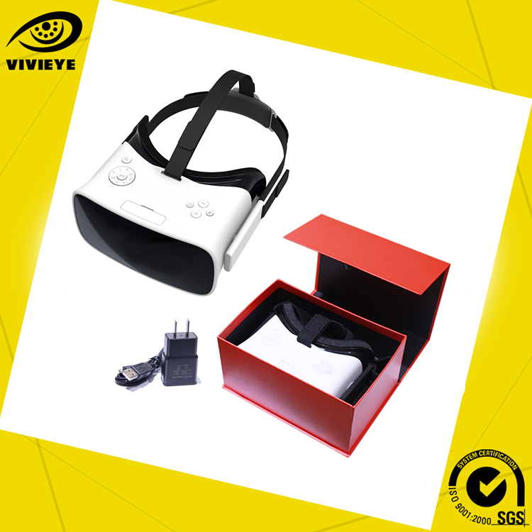 Newest Design Vr 3D Glasses Vr Player for Free Movies