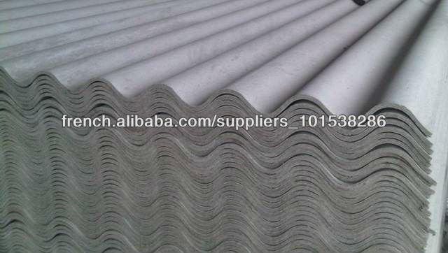 T les en fibre ciment tuile sans amiante autres travaux de construction d 39 immobilier id de for Prix des tuiles ciment