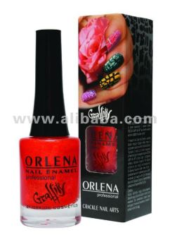 Orlena Cracle Nail Art