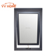 YY Home elegant double glazed aluminum awning window with wood frame