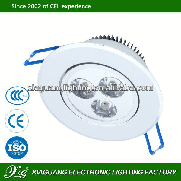 2013 hot sales led downlights vs halogen make in china