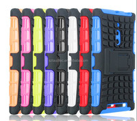 Shock Proof Dual Layer Silicone & Hard Case For Various Mobile Cell Phone