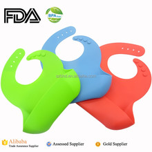 Healthy Feeding Silicone Bibs for babies, Soft Silicone Baby Bibs With Food Pocket