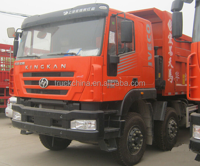 HONGYAN widely used heavy duty 8x4 dumper left hand drive tipper truck