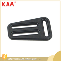 New products black plastic adjustable bag strap buckle accessories