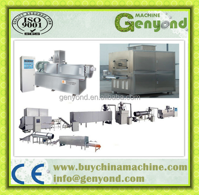 Extruded Breakfast Cereal/Corn Flakes Production Line