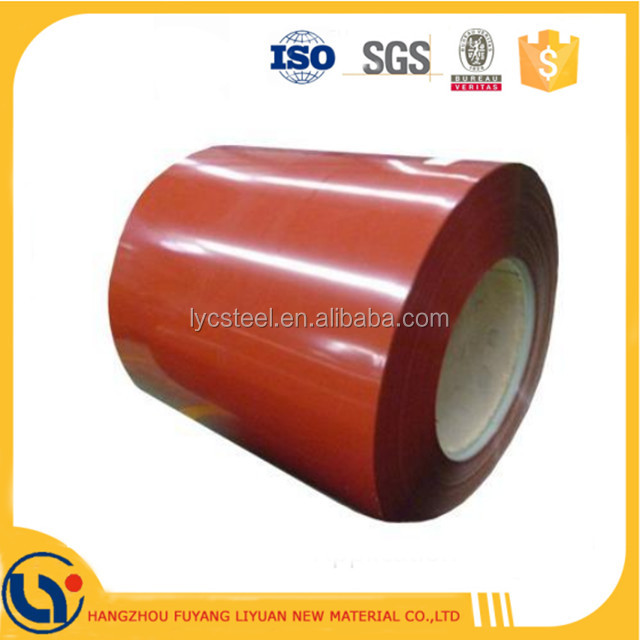 Low Price Prepainted Galvalume Steel Coil Color Coated Aluminium Zinc Painted Rolls PPGL Iron Coils