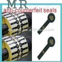Destructible Security label,Friable adhesive label,Special shape labels