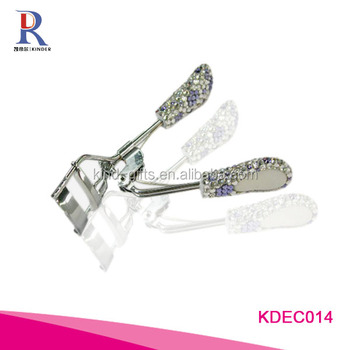 Rhinestone Eyelash Curler Shining Handle Eye Curling Eyelash Curler