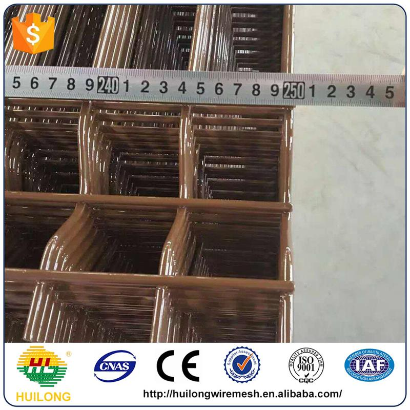 Manufacturer ISO9001 welded wire mesh metal fence