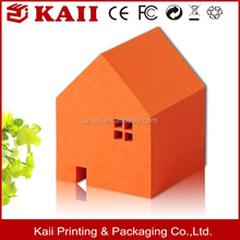the home shape sticky notes,orange sticky note, low price supplier in shenzhen