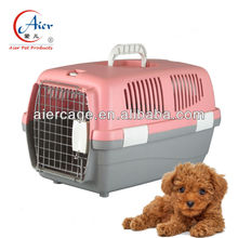 plastic pet cage travel dog crates