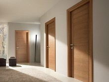 Solid oak wood office doors