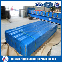 2016 new product galvanized corrugated steel roofing sheet