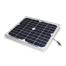 solar panel 10W black back sheet with mono crystalline solar cell