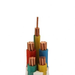XLPE insulated halogen free low smoke electrical cable for industrial