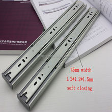 kitchen cabinet drawer slide parts,soft closing ball bearing sliding