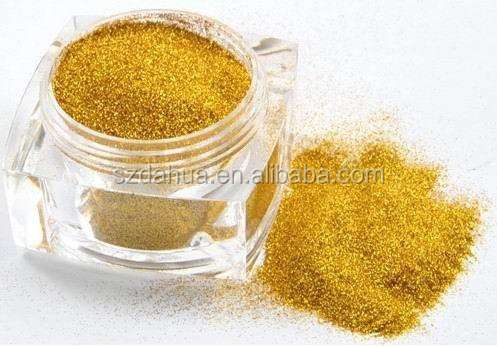 Solvent Resistant wholesale gold glitter powder dust