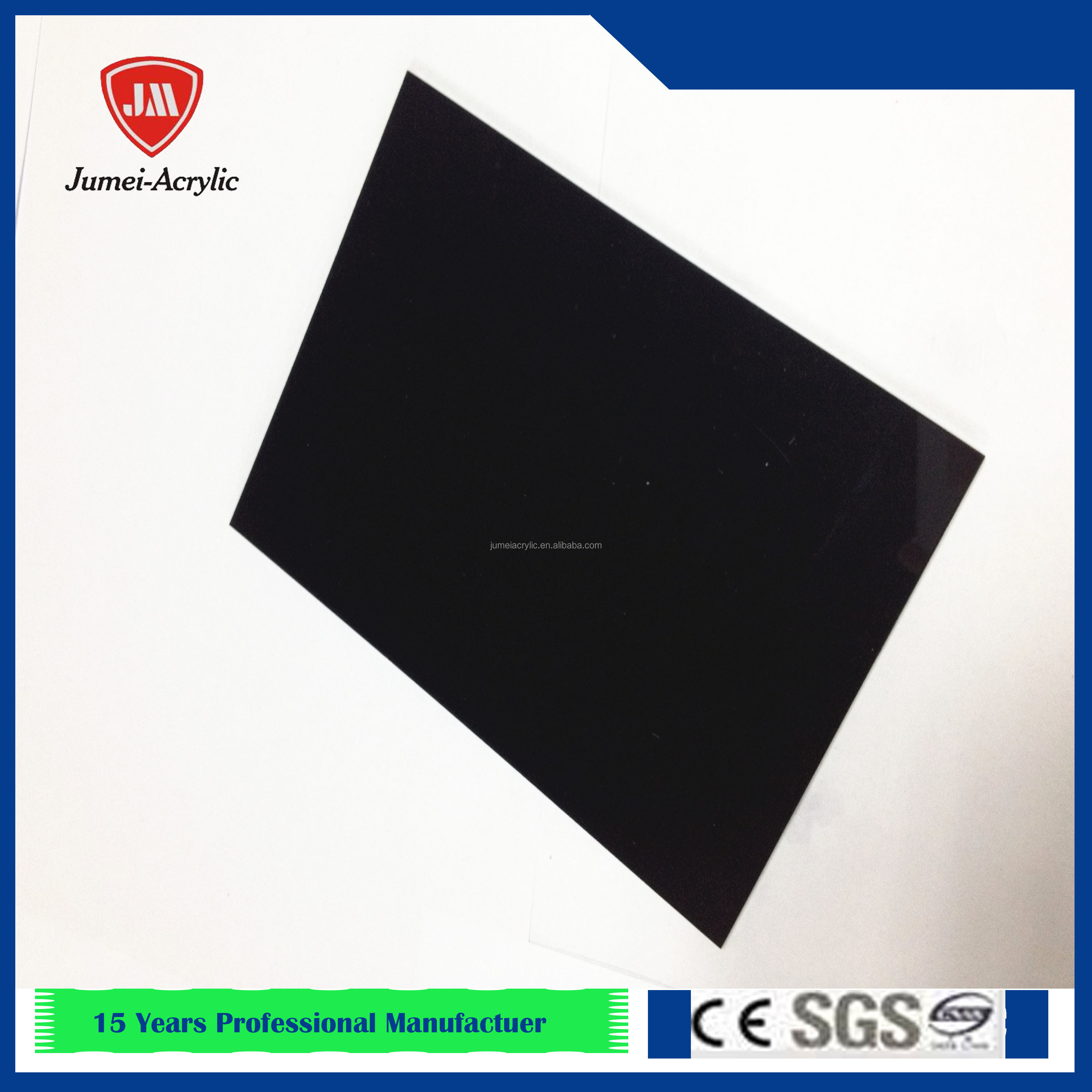 JM ISO9001 manufacture OEM ODM acrylic plate acrylic board clear plastic sheets for North American maket