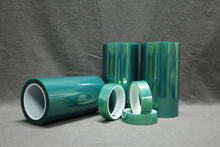 PET Silicone Transparent Green Film From China