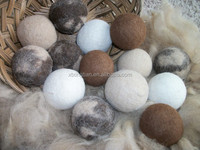 New Zealand pure no chemical soft and light wool dryer ball