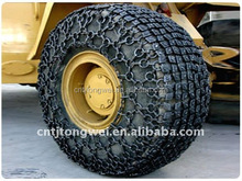 Tyre protection chain for Indian Shovel Loaders Model EMICO ELECON 824