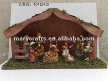 Polyresin Jesus christ,Polyresin nativity set statue
