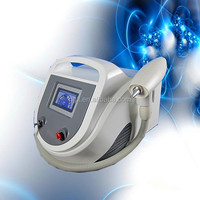 Best price portable mini q switched nd yag laser tattoo removal machine