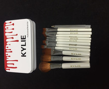 Kylie Makeup <strong>Brushes</strong> 12 pcs Professional <strong>Brush</strong> Sets Brands Make Up Foundation Powder Beauty Tools Cosmetic <strong>Brush</strong> Kits