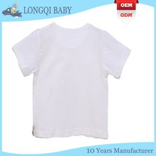 BX-TN-009 custom infant and toddler short sleeve led T-shirt