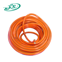 High pressure natural soft pvc plastic material gas/air hose pipe,lpg gas hose
