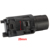 hunting accessories made in china M6 led tactical flashlight with red/green laser sight with weaver rail mount