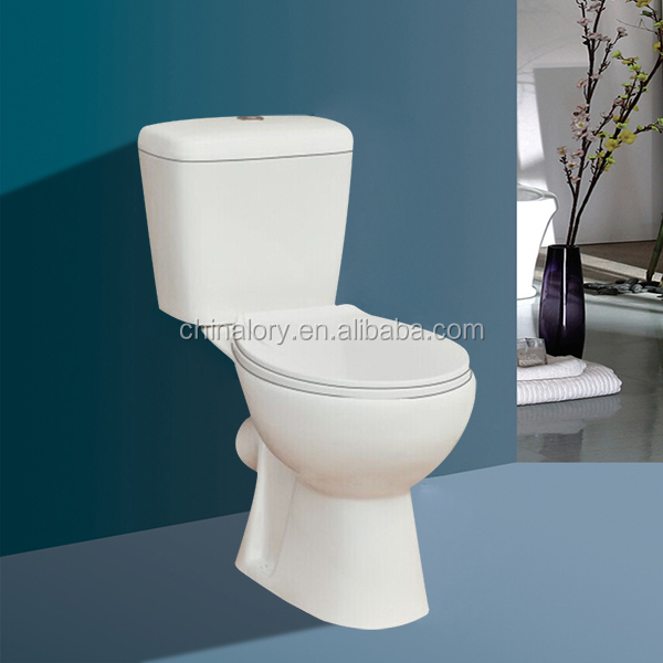 Russia ideal standard X-trap toilet/two pc toilet/bathroom toilet